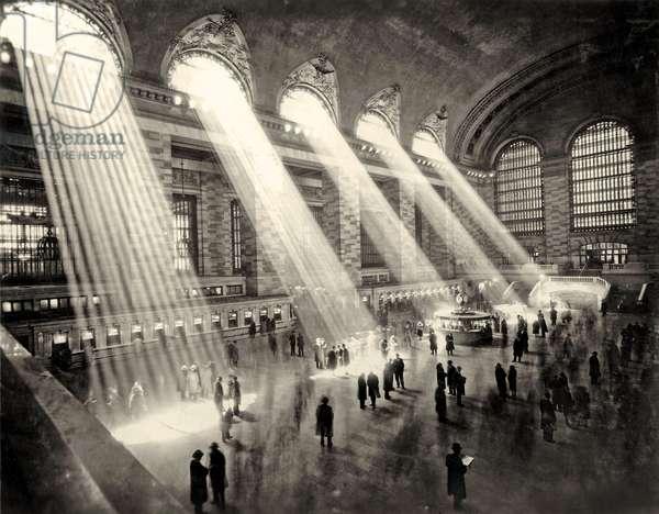 Grand Central Terminal, New York c.1930 (b/w photo)