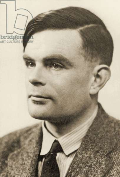 Portrait of Alan Mathison Turing, 1951 (bromide print)