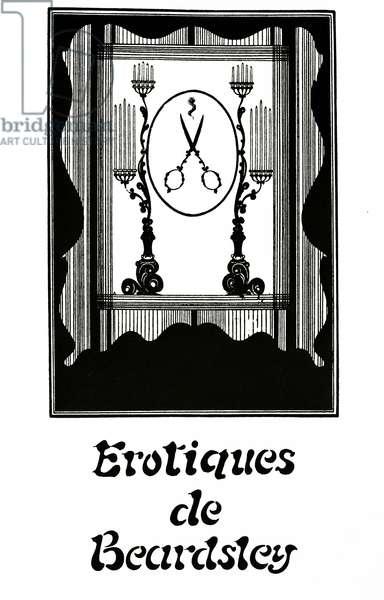 Erotiques de Beardsley, c.1894 (litho)