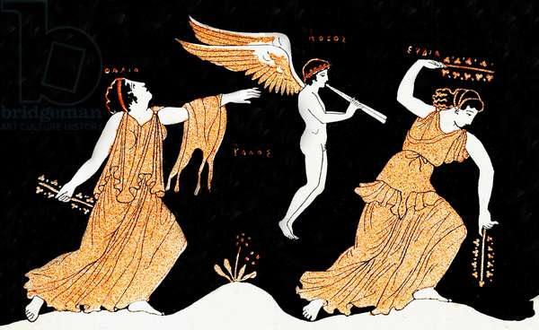 The Sacred Orgies of Aphrodite, Illustration from Notor's Lysistrata,  1898 (litho)