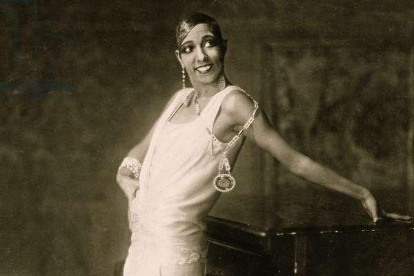 Portrait of Josephine Baker, Hamburg, c.1925 (photo)