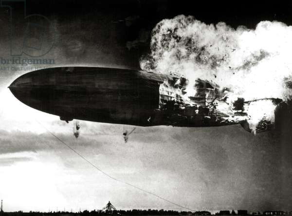 The Hindenburg Disaster, May 6, 1937 (photo)
