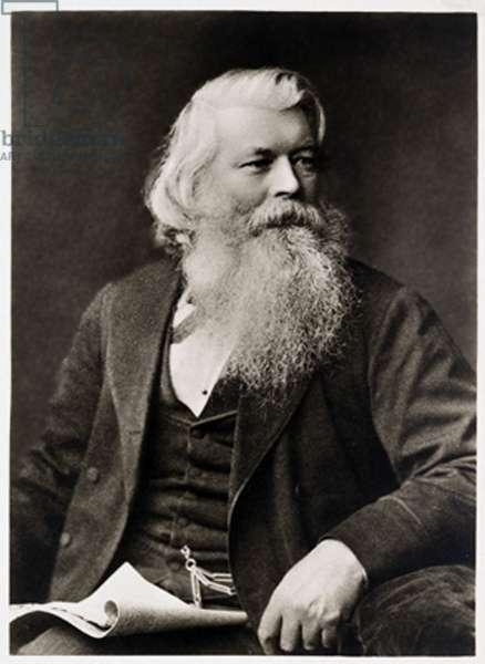 Portrait of Joseph Wilson Swan, 1913 (sepia photo)