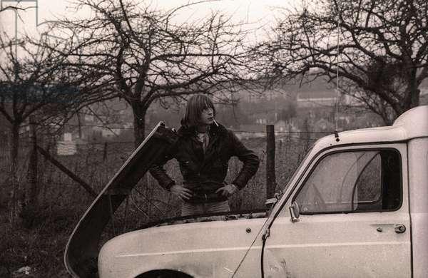 Photos de tournage d'un film de Renaud jamais terminé - 1975