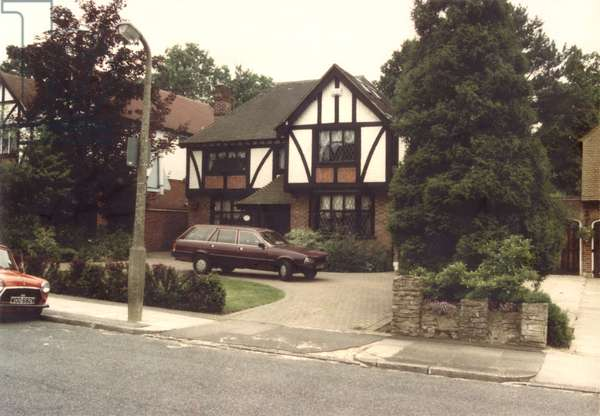 House rented by General Charles de Gaulle (1890-1970) and his family at Petts Wood, Summer 1940 (photo)