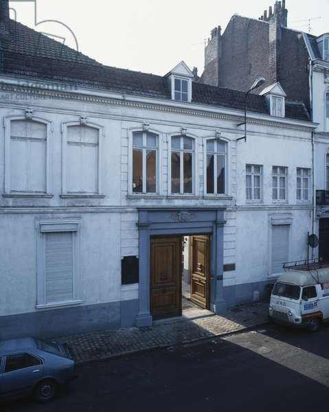 Birthplace of General Charles de Gaulle (1890-1970) 9, rue Princesse, Lille (colour photograph)