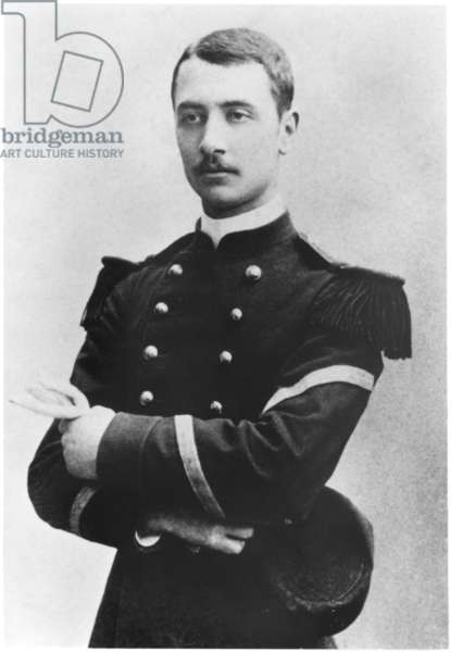 Future General Georges Catroux during his military service, 1897 (b/w photo)