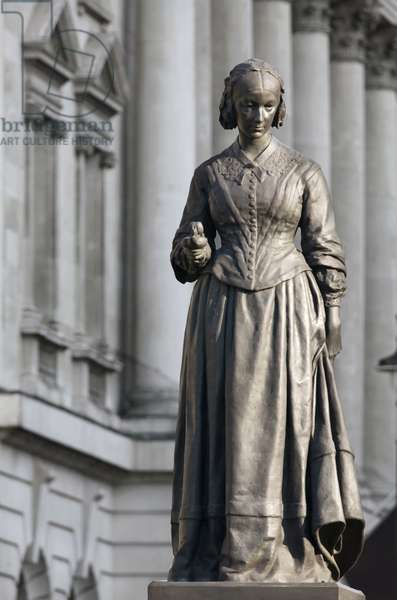 Florence Nightingale by Arthur Walker, Waterloo Place (photo)