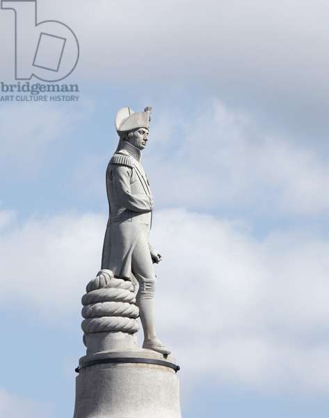 Detail of Nelson's Column by Edward Hodges Baily (photo)