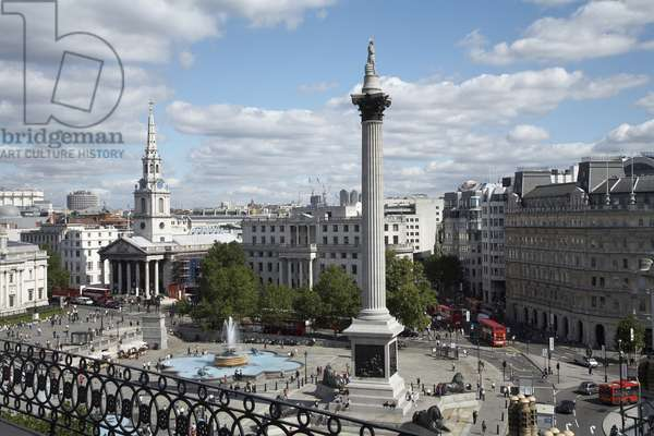 View of Nelson's Column (photo)