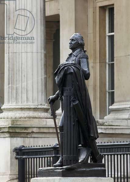 George Washington by Jean-Antoine Houdon (photo)