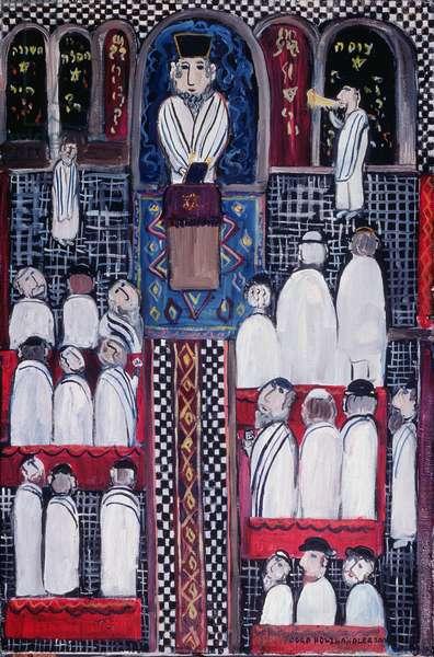 Yom Kippur, 2000 (oil on canvas)