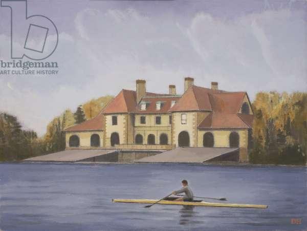 Harvard Boathouse - Fall
