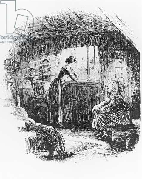 The Story of the Princess, illustration for 'Little Dorrit' (engraving) (b/w photo)
