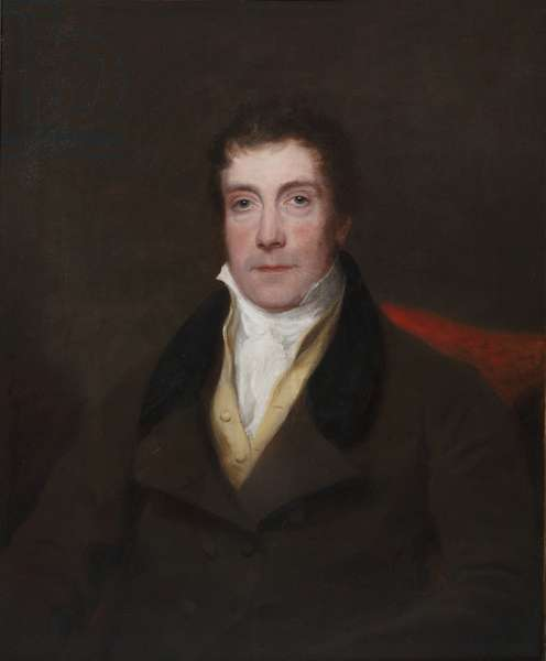 Portrait of George Beadnell, 1830-35 (oil on canvas)