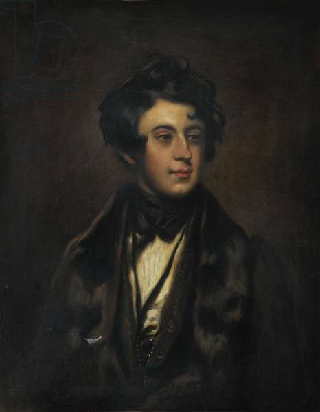 Charles Dickens, 1927 (oil on canvas)