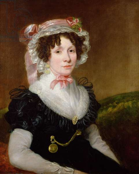 Portrait of Mrs. George Beadnell, 1830-35 (oil on canvas)