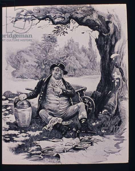 Mr Pickwick, 1870-79 (engraving)