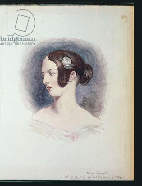 Mary Hogarth, c.1890 (w/c on paper)