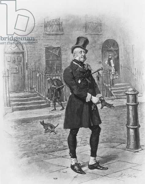 Mr. Micawber, 1880 (litho)