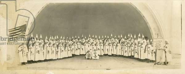 Dallas Klan No. 66 Minute Men, October 24, 1923 (b/w photo)