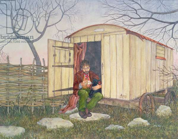 The Shepherd's Hut, from 'Far from the Madding Crowd', by Thomas Hardy