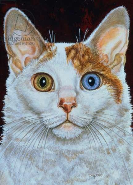 Minette, 1996 (acrylic on panel)