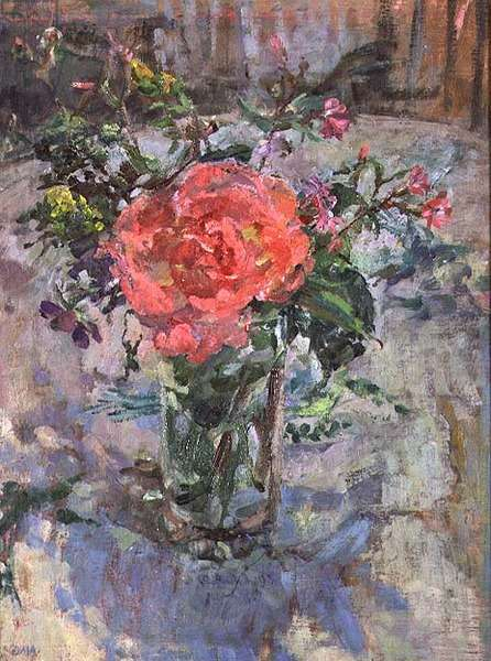 Rose in a Summer Bunch, 1988