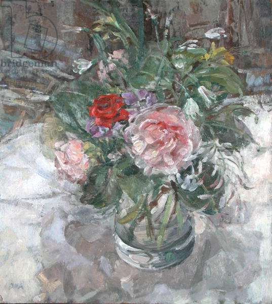 The Glass Jug from Rosemary (oil on board)