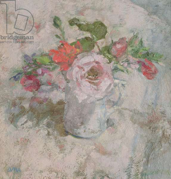 The Perfumed Rose in a Summer Bunch (oil)