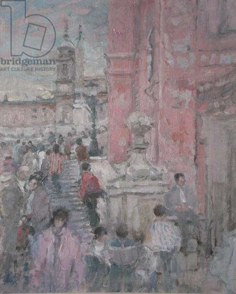 The Spanish Steps, Rome (oil)