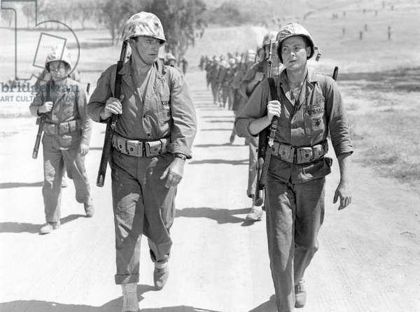 John Wayne And John Agar