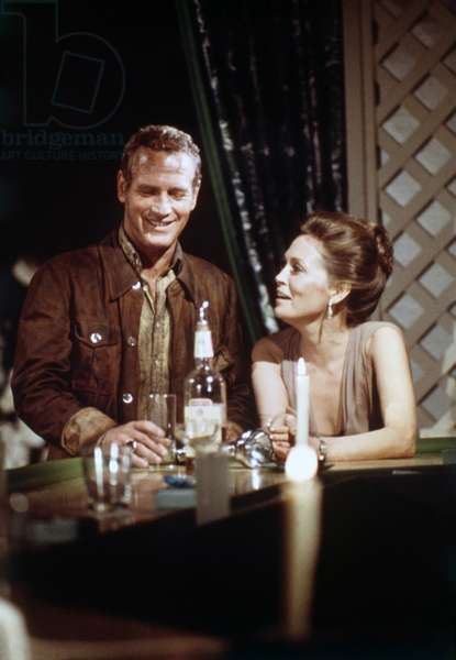 Paul Newman And Faye Dunaway, The Towering Inferno 1974 Directed By John Guillermin
