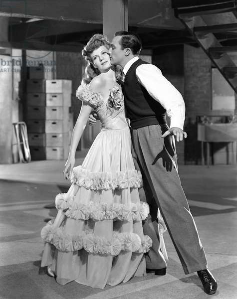 Rita Hayworth And Gene Kelly Play The Romantic Leads Of The Film Cover Girl., Cover Girl 1944 Directed By Charles Vidor