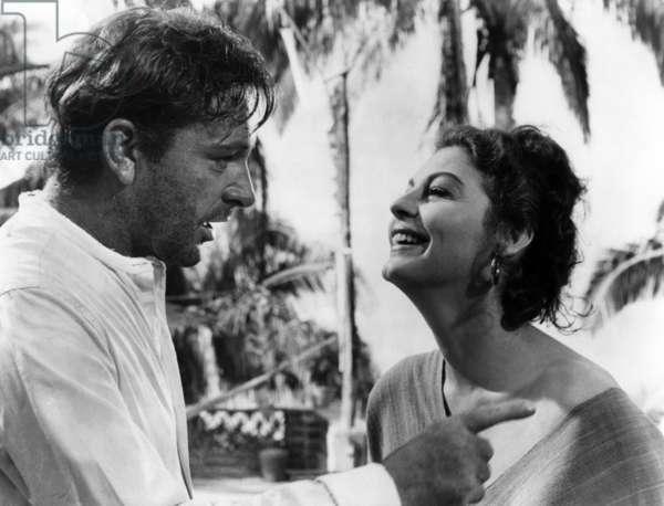 Richard Burton And Ava Gardner
