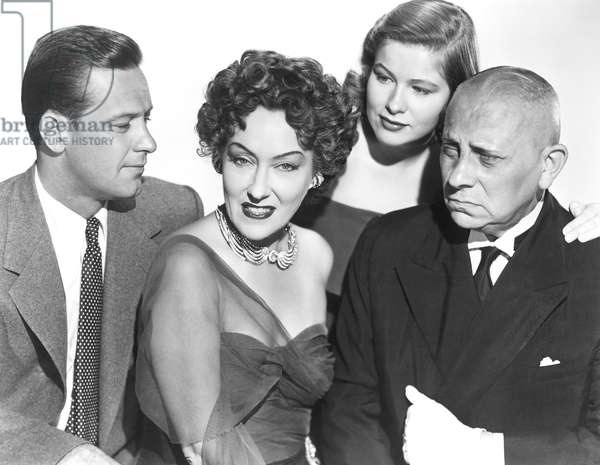 William Holden, Gloria Swanson, Nancy Olson And Erich Von Stroheim.