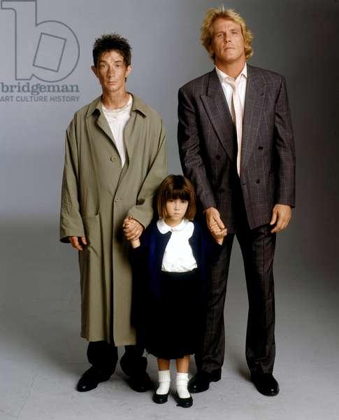 Martin Short, Sarah Rowland Doroff And Nick Nolte, Three Fugitives 1989 Directed By Francis Veber
