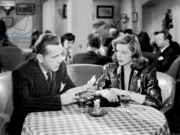 Humphrey Bogart And Lauren Bacall, The Big Sleep 1946 Directed By Howard Hawks