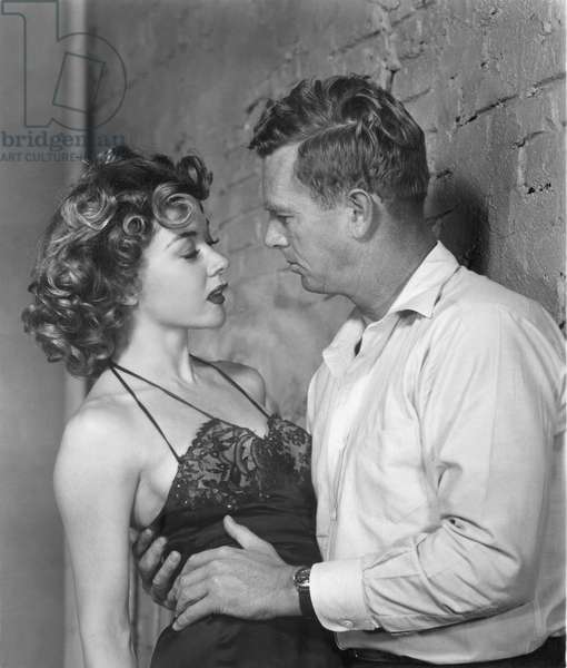Naked Alibi - The Murderous Alibi 1954 directed by Jerry Hopper; Universal International Pictures; Gloria Grahame; Sterling Hayden
