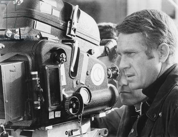 On The Set, Steve Mcqueen, Bullitt 1968 Directed By Peter Yates