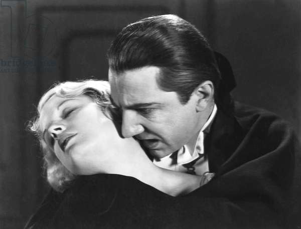 Helen Chandler And Bela Lugosi, Dracula 1931 Directed By Tod Browning