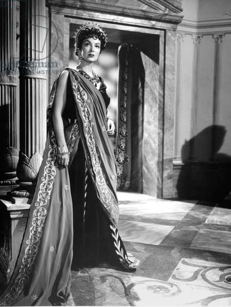 Gianna Maria Canale , Theodora Imperatrice De Byzance 1954 Directed By Ricardo Freda