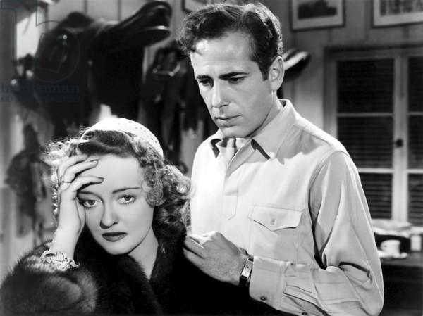 Bette Davis And Humphrey Bogart, Dark Victory 1939 Directed By Edmund Goulding