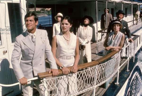 Simon Maccorkindale Lois Chiles Bette Davis Mia Farrow Jack Warden, Death On The Nile 1978 Directed By John Guillermin