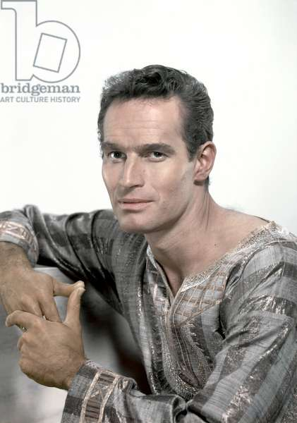 Charlton Heston, Ben-Hur 1959 Directed By William Wyler
