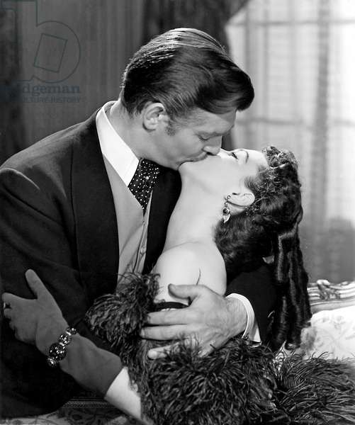 """Gone With The Wind"" Starred Clark Gable And Vivien Leigh As Rhett Butler And Scarlett O'Hara.  Although Both Gable And Leigh Received Academy Award Nominations For Their Portrayals, Only Leigh Took Home The Oscar In The Lead Actress Category."