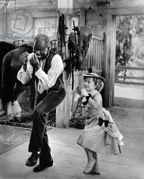 "Bill ""Banjogles"" Robinson And Shirley Temple"