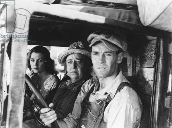 Les Raisins de la colere The Grapes of Wrath 1940 de JohnFord avec Henry Fonda et Jane Darwell 1940 (d' apres John Steinbeck)