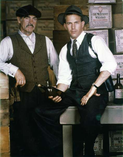 Sean Connery /Kevin Costner, The Untouchables 1987 Directed Brian De Palma