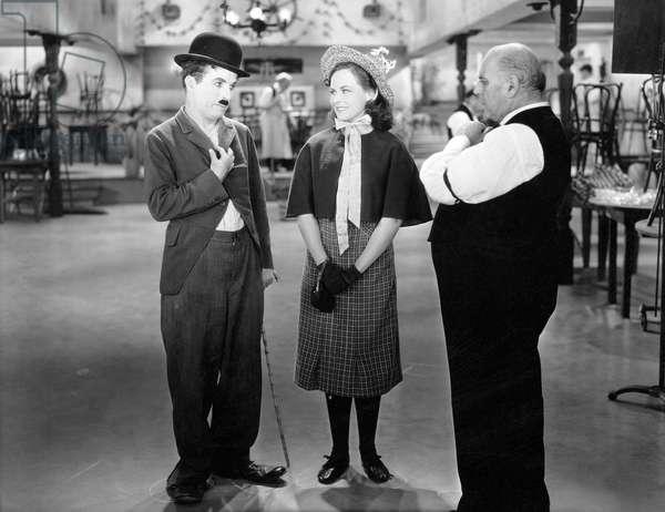 Charlie Chaplin And Paulette Godddard